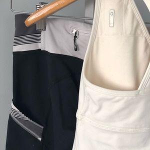 Lululemon leggings and top